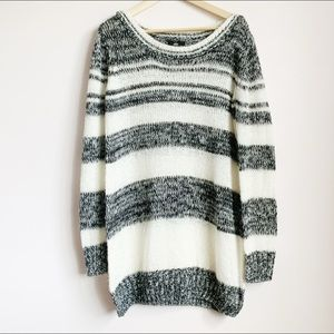 extra long loose knit river island sweater